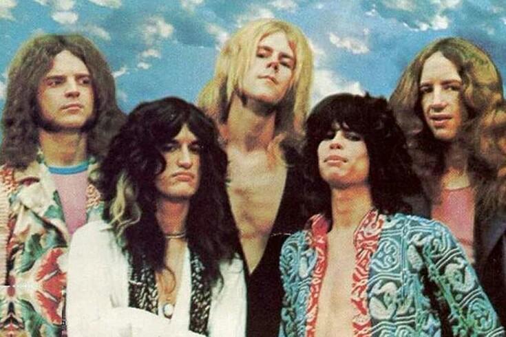 Aerosmith Band pic 1973