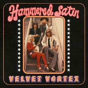 Hammered Satin - Velvet Vortex