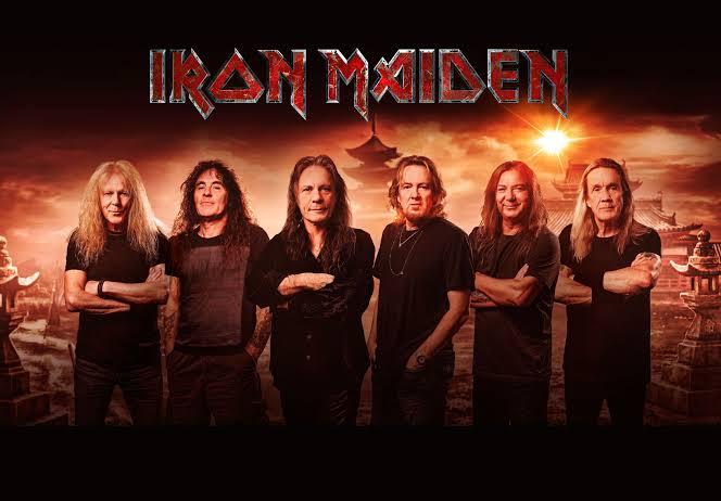 Iron Maiden Band pic 2021