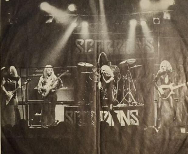 Scorpions Band pic 1977